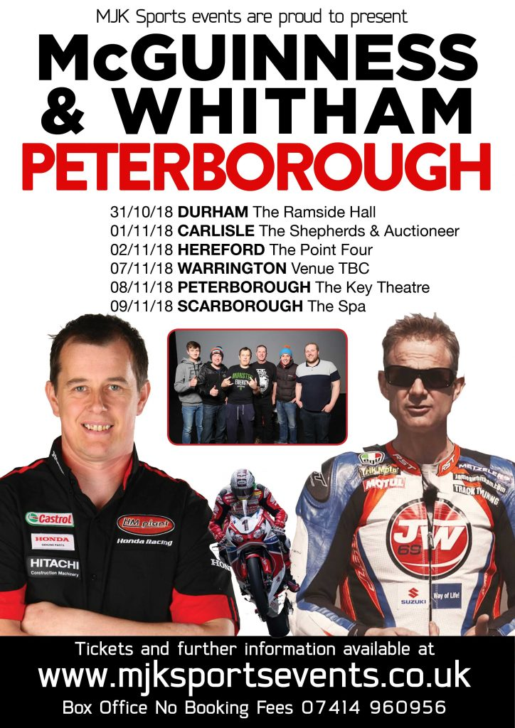 John McGuinness Peterborough