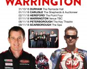 John McGuinness Warrington