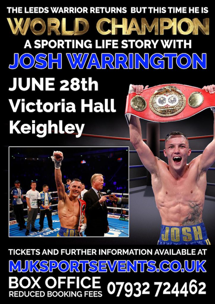Josh Warrington Keighley