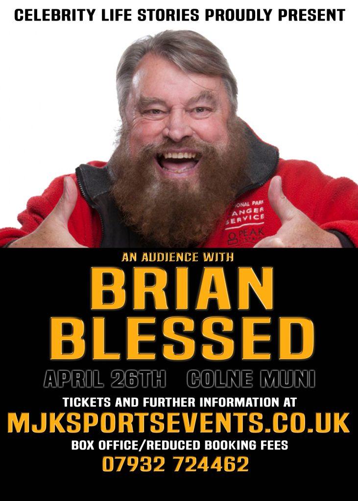Brian Blessed Colne Muni