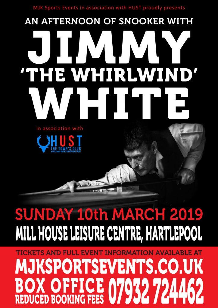 Jimmy White Hartlepool