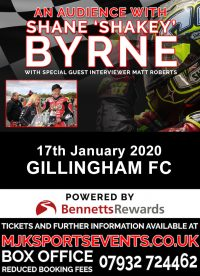 Shakey Byrne Gillingham