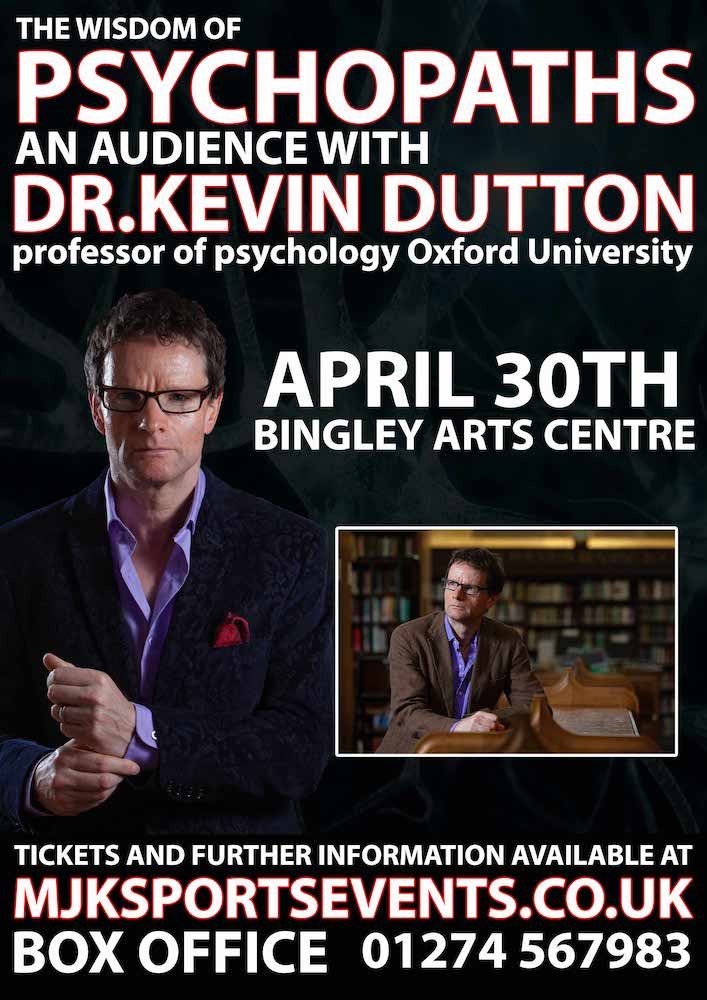 Kevin Dutton Bingley Arts Centre