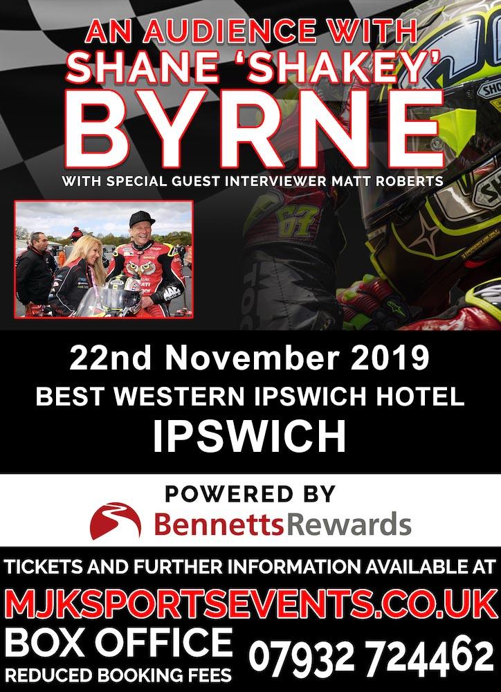 Shakey Byrne Ipswich