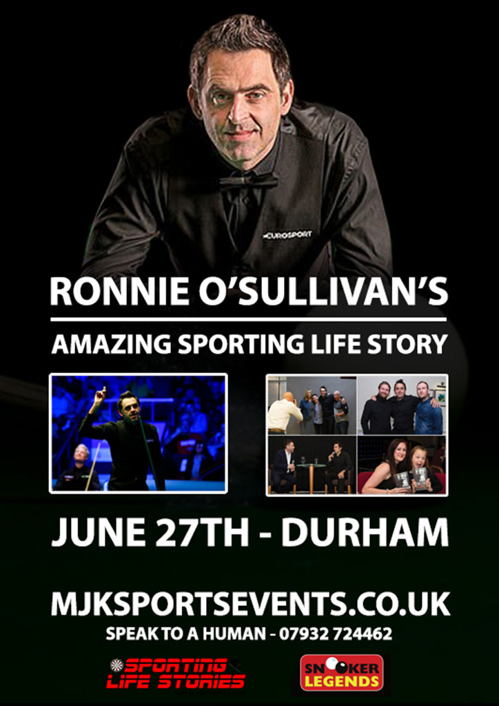 RONNIE O'SULLIVANS AMAZING SPORTING LIFE STORY